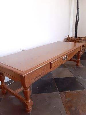 Vintage Side● CENTER Coffee Table \ \ cocktail table - VERY nice! 1st $99 : 52L X 21W x 16 T ^^ for Sale in Avondale, AZ