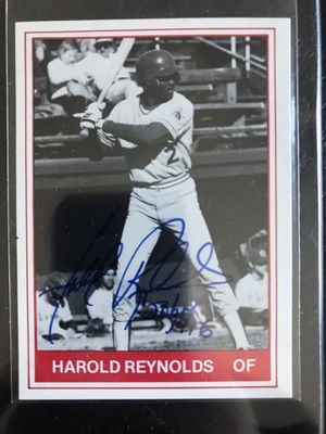 1982 Lynn Sailors 18 card set with Harold Reynolds Signed Auto NM MT Condition for Sale in La Mesa, CA