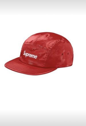 Supreme linen coated Camp Cap Red for Sale in Oxon Hill, MD