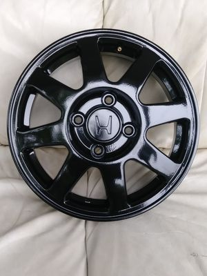 Gloss black Honda rims!!!!! for Sale in Attleboro, MA