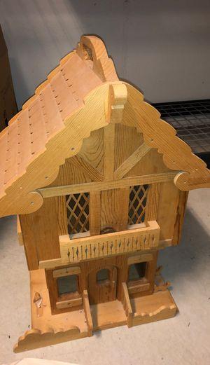 Wooden doll house for Sale in Salt Lake City, UT