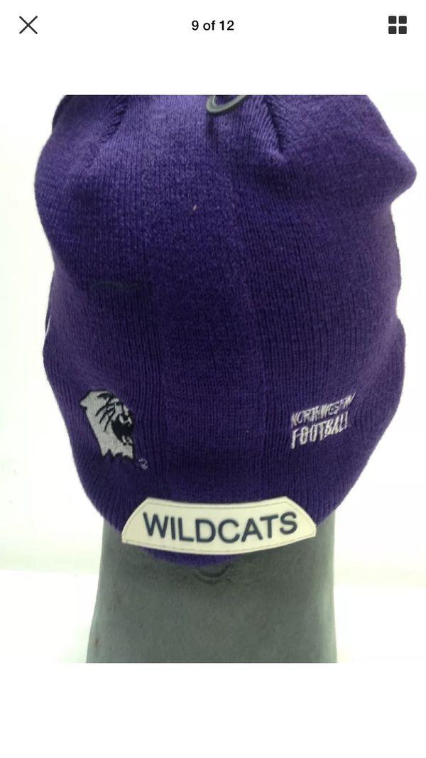 972f9b45b LOT Of 24 NORTHWESTERN WILDCATS FOOTBALL HELMET BEANIE HAT SKIN WINTER NCAA  CAP for Sale in Plainfield, IL - OfferUp