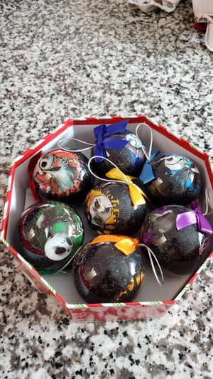 Nightmare before Christmas ornaments for Sale in Wildomar, CA