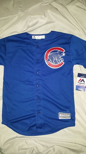 YOUTH SIZE L MAJESTIC COOL BASE KRIS BRYANT JERSEY for Sale in Wheaton, IL