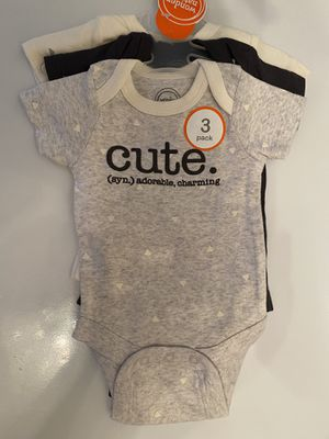 Adorable infant onesies for Sale in Burke, VA