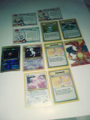 LOT OF 11 RARE POKEMON CARDS for Sale in Philadelphia, PA