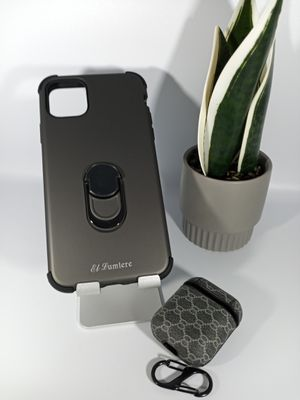 Bundle of Anti-Shock Case for iPhone 11 pro Max and Airpods Case for Sale in Loma Linda, CA