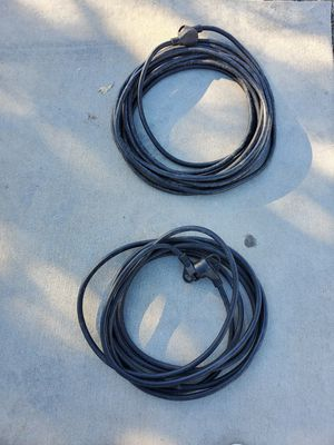 30 amp rv exstenion cords for Sale in Stockton, CA