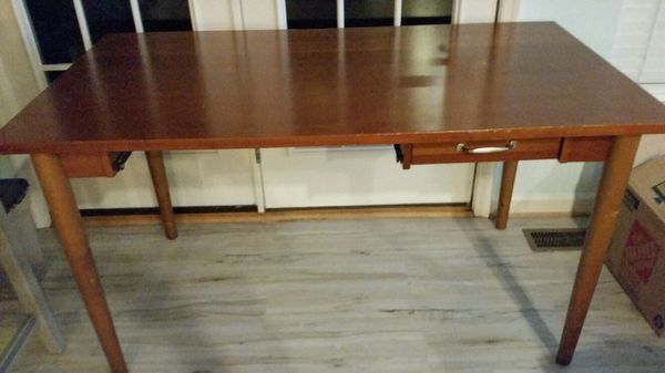 Pottery Barn wooden office table