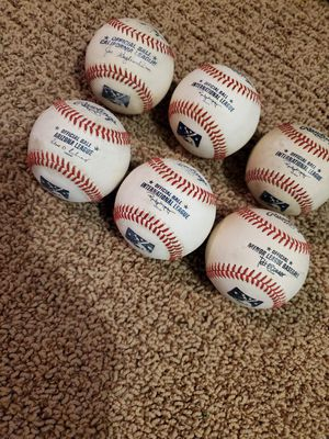 MLB Baseballs. Rare, Leather. Official baseball for different leagues for Sale in Placentia, CA