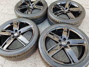 "Original Audi S3 A3 Black 19"" Wheels Rims New Tires for Sale in Los Angeles, CA"