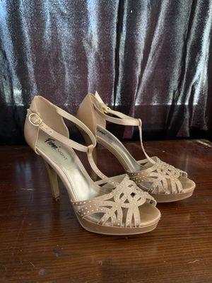 Rhinestone Studded Heels Size 6.5 for Sale in Westfield, NJ