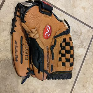 "Rawlings Leather Baseball Glove PP2109TB 11.5"" Youth/Adult Right Hand Throw Used for Sale in Chimacum, WA"