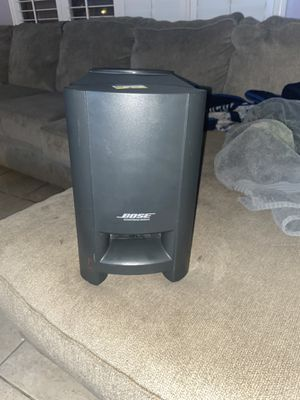 Bose Acoustimass Module/Cinemate home theater speaker system for Sale in Goodyear, AZ