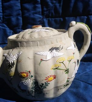 Antique Banko Japanese Pottery Teapot for Sale in Alva, FL
