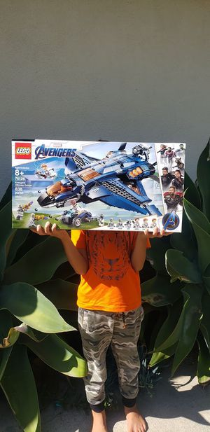 NEW LEGO Marvel Super Heroes Avengers Ultimate Quinjet Set 76126 Jet 838 Pieces airplane plane - sealed $75. Price is firm. Thank you. for Sale in Ventura, CA