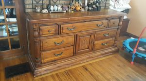 Wooden dresser for Sale in Columbus, OH