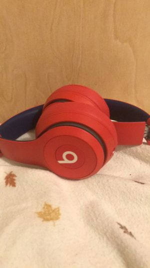 Beats solo 3 50 OFF red and blue addition for Sale in Cambridge, MA