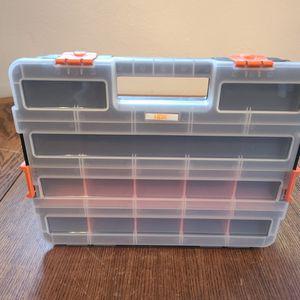 HDX Interlocking Organizer Tool Box Removable Dividers for Sale in Tucson, AZ