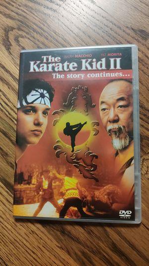 Karate Kid 2 on DVD for Sale in Tulsa, OK