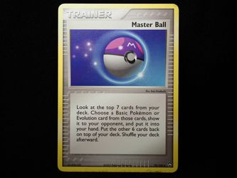 Pokemon Card - Master Ball for Sale in Silver Spring,  MD