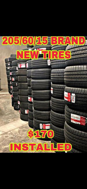 205 60 15 BRAND NEW SET OF TIRES for Sale in Mesa, AZ