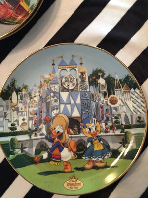 Antique collectible glass Disney plate for Sale in Fresno, CA