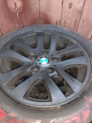 4 BMW RIMS AND TIRES for Sale in Baldwin Park, CA