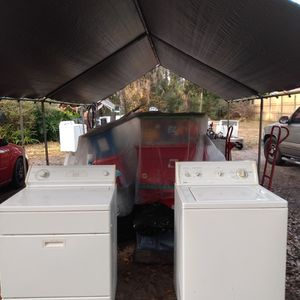 Kenmore Washer And Whirlpool Dryer Year Guarrantee for Sale in Belleview, FL