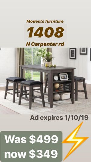 Bench style dining Room set for Sale in Modesto, CA