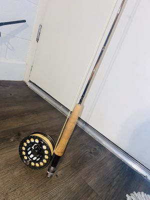 """Fly fishing rod and reel 7'6"""" #3line for Sale in Phoenix, AZ"""