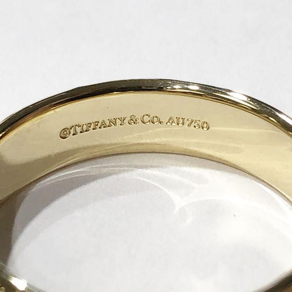 18K Yellow Gold Unisex 5.8 mm Tiffany & Co Plain Wedding Band Size: 11.5 **Great Buy** 90429-1