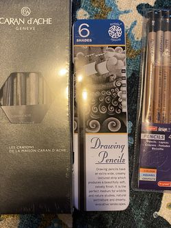 Graphite and Charcoal Art Supply Lot for Sale in Tacoma,  WA