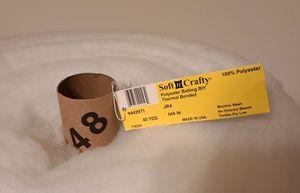 "Polyester Batting 48"" by 45 yd for Sale in Brandon, FL"