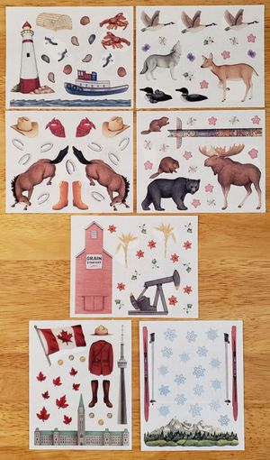 Creative Memories Sightseeing Canada Stickers for Sale in Fontana, CA