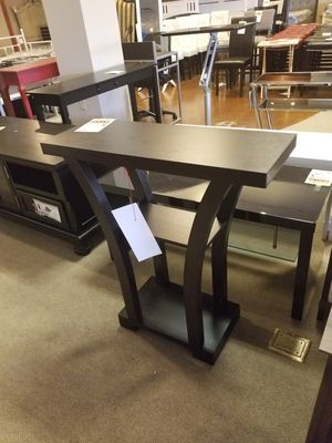 Espresso Entry/Sofa Table for Sale in Phoenix, AZ
