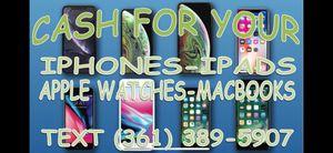 NEW SEALED BOX iPad MacBook Apple Watch - iPhone xs max x xr 11 pro 11 pro max iCloud passcode locked NEW SEALED OPEN BOX cellphone smartphone phone $ for Sale in Los Angeles, CA