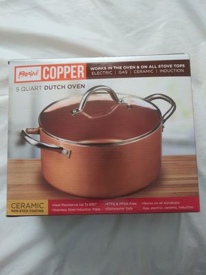 Copper Dutch oven( New) for Sale in Phoenix, AZ