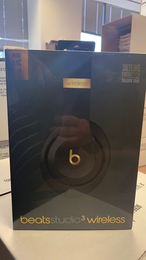 Beats Studio 3 Wireless - Shadow Gray for Sale in Alexandria, VA
