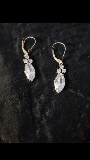 14k real gold diamonds earings ! for Sale in San Marcos, CA