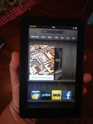 Kindle tablet ex condition for Sale in Wichita Falls, TX