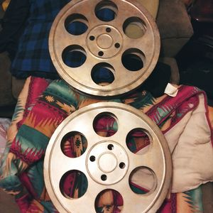 2 Large movie reels for Sale in Sugar Creek, MO