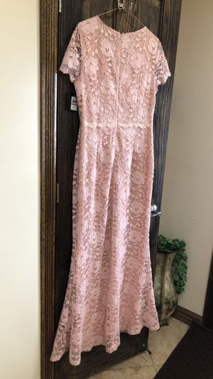 Formal Dresses Size 12 Blush Pink Prom Ellen Tracy Gowns New Bridesmaid Mother of the Bride for Sale in Burbank, IL