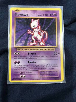 Pokemon Card Mewtwo 51/108 for Sale in Anaheim, CA