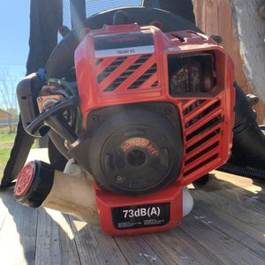Troy-Bilt TB2BP-EC 2-Cycle 27cc Gas Backpack Leaf Blower with JumpStart Capabilities for Sale in Fontana, CA