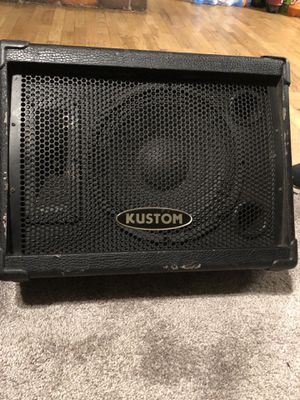 Kustom monitor for Sale in Modesto, CA