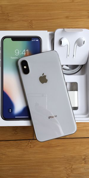 New Condition iPhone X iPhone 10 Factory Unlocked for Sale in North Miami Beach, FL
