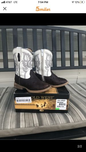 Baby Cowboy Boots for Sale in Alvarado, TX