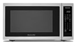 KitchenAid 1.5-cu ft 1400-Watt Countertop Convection Microwave (Stainless Steel) for Sale in Houston, TX