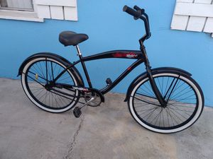 Beach cruiser bike for sale tires 26inches good condition for Sale in South Gate, CA